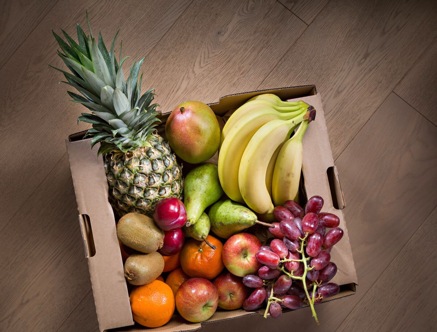 Pale Green Dot fresh fruit and veg box home delivery service