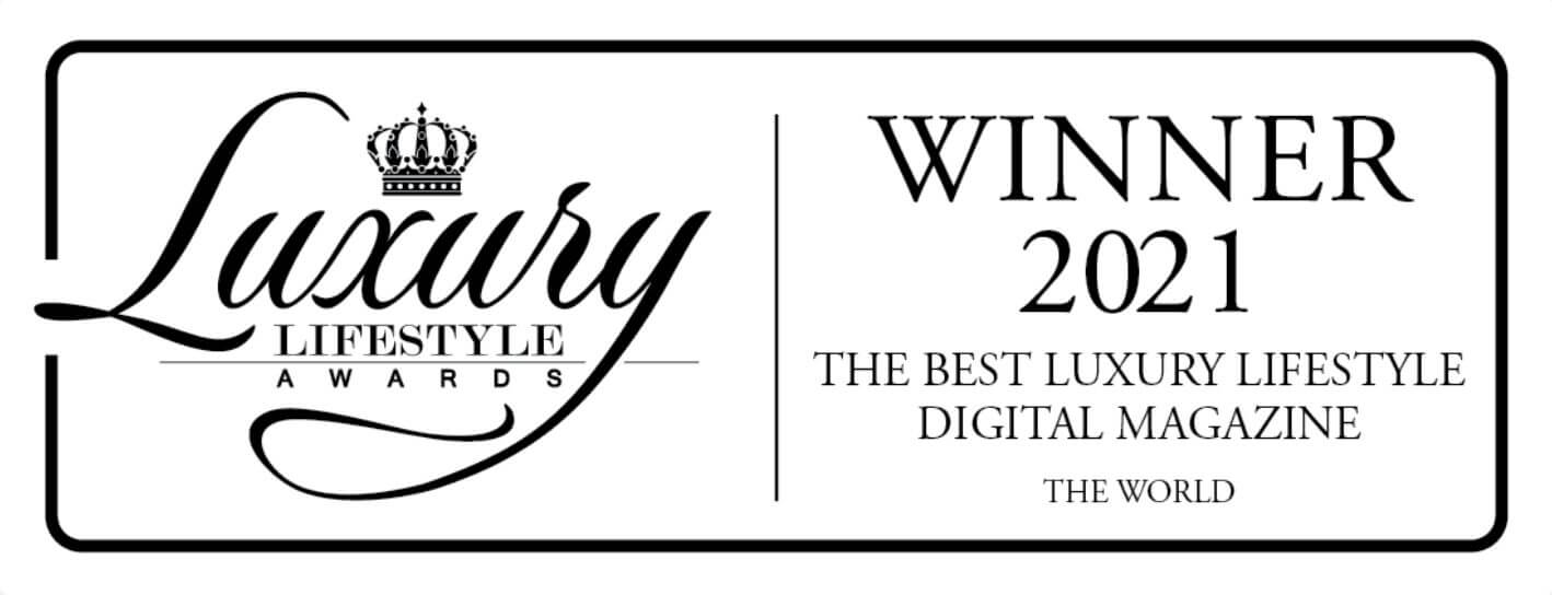LUXURIA LIFESTYLE INTERNATIONAL WINS WORLD'S BEST LUXURY DIGITAL MAGAZINE AWARD FOR THE SECOND YEAR IN A ROW