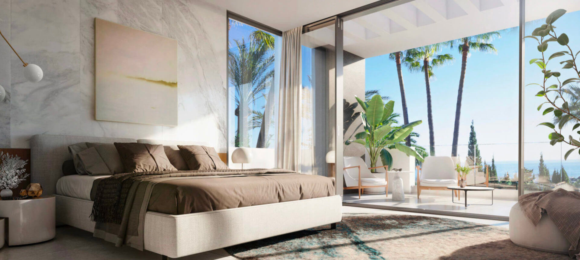Dream bedrooms in Le Blanc
